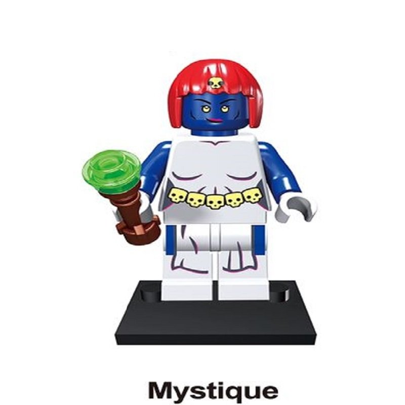 Mystique Character Minifigure Lego Mini Figure Build block