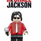 Michael Jackson Singer Hollywood Minifigure Lego Mini Figure SPECIAL EDITION