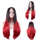 Hollywood Celebrity RED, BLACK Wig Costume Accessory Adjustable Cap- Halloween
