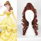 Disney Beauty and The Beast Princess Belle Cosplay Character Wigs Women SALE