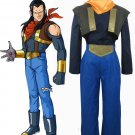 Dragonball Z Super Android No.17 Anime Cosplay Costume Halloween