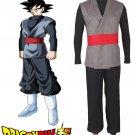 Dragonball Z Super Goku Black Fighting Uniform Anime Cosplay Costume