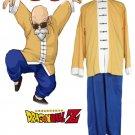 Dragonball Z Kai Muten-Roshi (Kame-Sen'nin) Chinese suit Anime Cosplay Costume