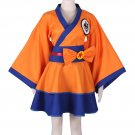 "Dragonball Z Kakarotto Character""GO"" Female Lolita Kimono Dress Anime Cosplay Costume"