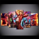 Guardian of the Galaxy Disney Movie HD 5pc Wall Decor Framed Oil Painting 2