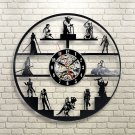 Star Wars characters Design vinyl record theme wall clock Vintage Decor