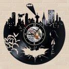 Batman Arkham City Scene vinyl record theme wall clock Vintage Decor