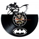 Batman Superhero vinyl record theme wall clock Vintage Decor Room Decor