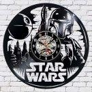 Star Wars Movie film vinyl record theme wall clock Vintage Decor