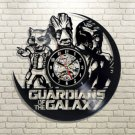 Guardians of the Galaxy vinyl record theme wall clock Vintage Room Decor
