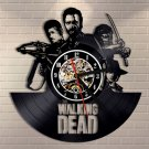 The Walking Dead vinyl record theme wall clock Vintage Decor Horror