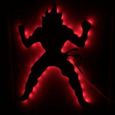 Dragonball Z Goku Nightlight Wall Art Kids Children Atmosphere LED Wall  Light