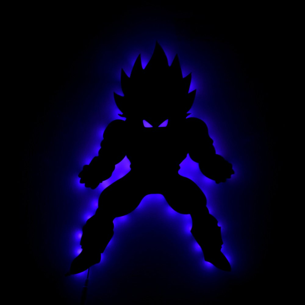 Dragon Ball Z Vetega Nightlight Wall 16 Colors Character LED Wall Light