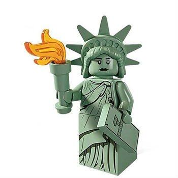 Statue of Liberty Character Minifigure Mini Figure for LEGO