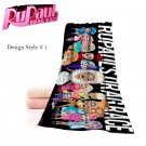 RuPaul Drag Race 9 Exclusive design Beach Bath towel Hollywood 3 Design Styles