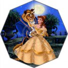Beauty and the Beast Belle Design 3 Fold Umbrella