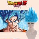 Dragon Ball Z: Resurrection 'F' Son Goku Kakarotto Saiyan God Blue Cosplay Wig