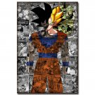 Dragon Ball Z Goku Anime Silk Poster Art 20x30 inches Wall Deco