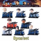 Star Trek Enterprise 8pc Mini Figures Building Blocks Set LEGO  New Arrival
