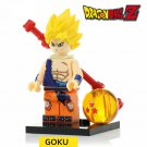 Dragon Ball Z  Mini Figure Lego Vegeta Goku Perfect Cell Majin Buu Badock