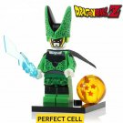 Dragon Ball Z  Mini Figure Lego Vegeta Goku Perfect Cell Majin Buu Tien Shin Han