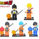 Dragon Ball Z 5PC Minifigure set Son Goku Vegeta LEGO Anime - SALE ENDS 11/1/17
