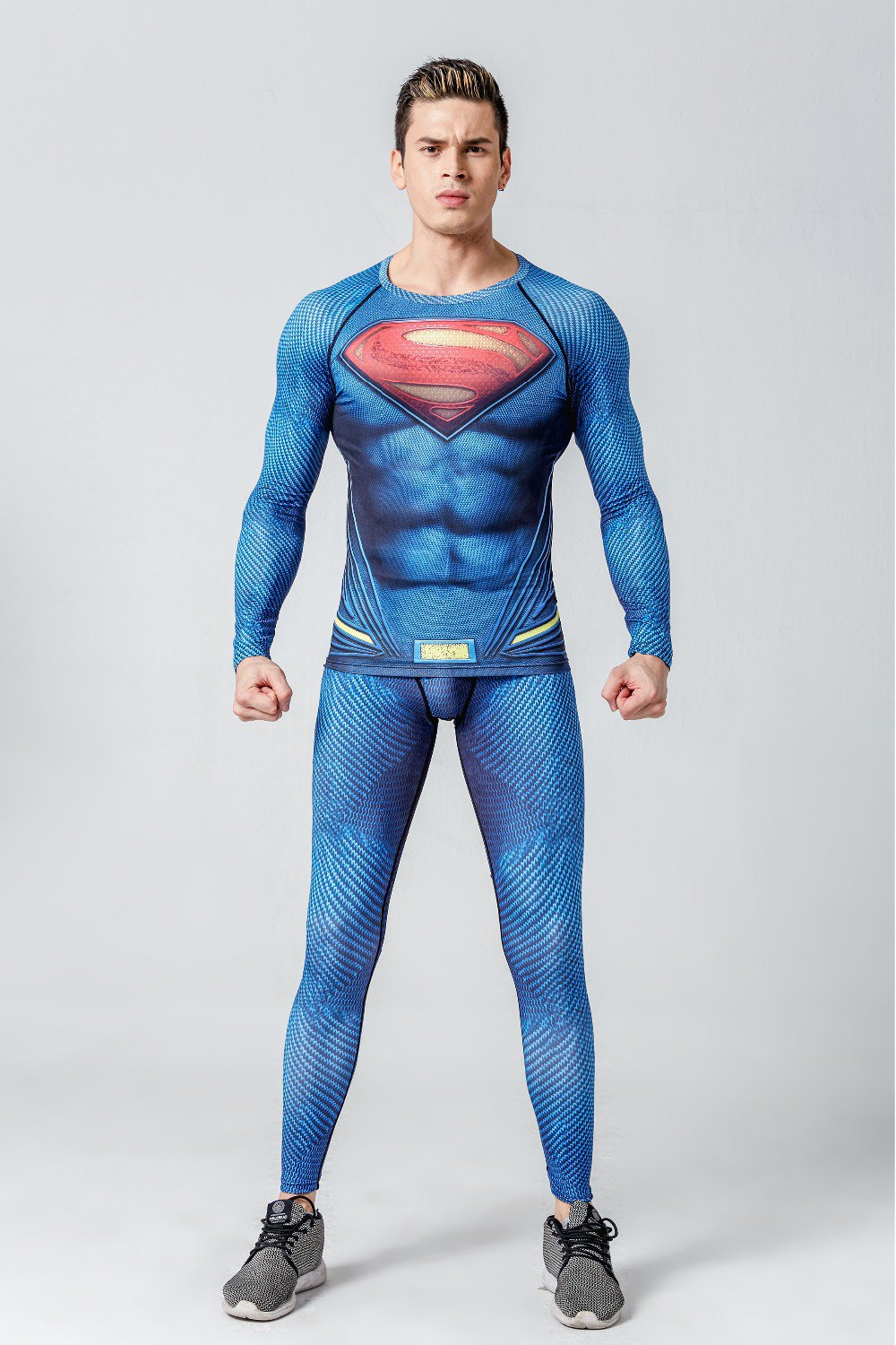 Get the superhero look you want with our licensed superhero running gear. From t-shirts to shirts with capes to socks, we have what you want for your S.