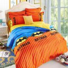 Batman Superhero Kids Bedding Set - TWIN 4pc SALE