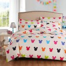 Mickey Mouse Colors Kids Bedding Set - Queen 4pcs SALE