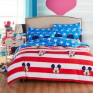 Mickey Mouse American Flag Kids Bedding Set - TWIN 4pc SALE
