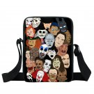 Horror Film Fans Movie Characters Nightmare Messenger School Bag