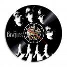 The Beatles Music Artists Band vintage vinyl record theme wall clock Home Decor