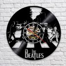 The Beatles Band vintage vinyl record theme wall clock Zebra Music Home Decor
