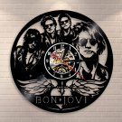 Bon Jovi  vintage vinyl record theme wall clock Rock Music Artist Home Decor