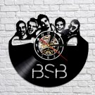 Backstreet Boys Group vintage vinyl record theme wall clock Music Artist Home Decor