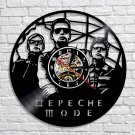 Depeche Mode Group vintage vinyl record theme wall clock Music Artist Home Decor