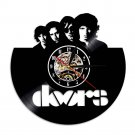 The DOORS vintage vinyl record theme wall clock Music Artist Home Decor