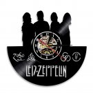 LED ZEPPELIN vintage vinyl record theme wall clock Rock Music Artist Home Decor