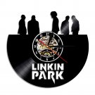 LINKIN PARK  vintage vinyl record theme wall clock  Music Artist Home Decor