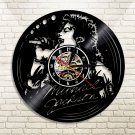 Michael Jackson King of Pop vintage vinyl record theme wall clock Music Artist Home Decor