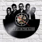 New Kids on the Block vintage vinyl record theme wall clock Music Artist Home Decor