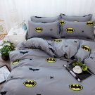 Batman Character Superhero Kids Bedding Set - FULL 4pcs SUPER SALE