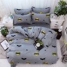 Batman Character Superhero Kids Bedding Set - TWIN LG 4pcs SUPER SALE
