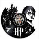 Harry Potter vintage vinyl record theme wall clock Music Artist Home Decor