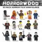 SALE PRICE Horror Film 15pc Horrorwood Lego Minifigures - Exorcist, Pinhead, Jason, Leatherface