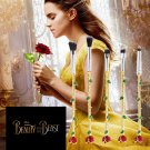 Belle Beauty and the Beast Rose Flower Makeup 5pcs Brushes Set variety