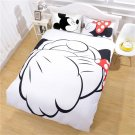 Mickey Minnie Mouse Disney Sweetheart love Bedding cover set- QUEEN 3pcs - New years weekend SALE