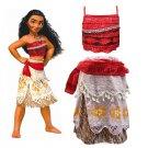 Moana Character Costume Dress Style Princess Attire