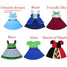 Cartoon Character Design Cosplay Outfits Costume Dress 18M-10T