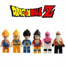 Dragon Ball Z 6PC Minifigure set Goku Vegeta Mini Figures Anime SALE
